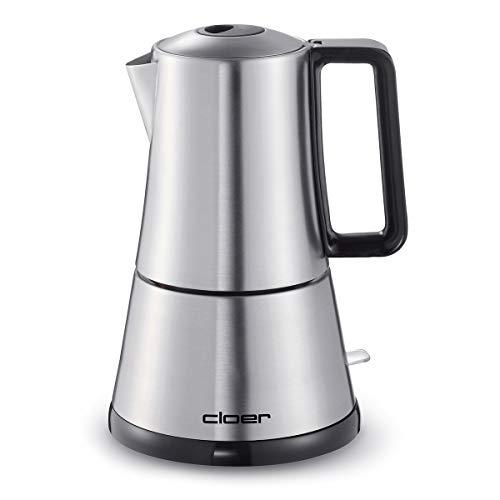 Cloer 5928 Espresso-Kocher / 365 W / für 3-6 Tassen Espresso /...
