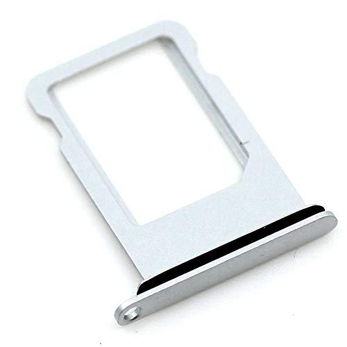 SIM-Kartenhalter passend für Apple iPhone 7 Silber Halter Tray Schlitten mit...