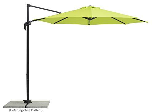 Schneider-Schirme Rhodos Junior, apfelgrün, ca. 300 cm Ø, 8-teilig, rund...
