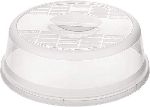 Rotho Basic Mikrowellenabdeckhaube, Kunststoff (BPA-frei), transparent, (26,5 x...