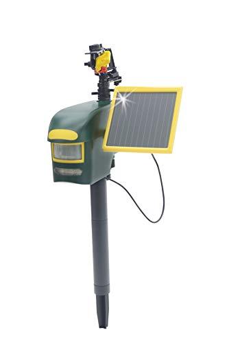 Gardigo Solar Wasserstrahl Tiervertreiber (Reiherschreck, Katzenschreck,...