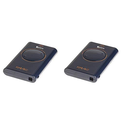 2 FAAC Handsender XT2 433 SL XT2433SL *ersetzt TML2 433 SLR 433 Mhz TML433SLR *...