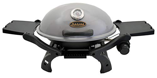 ACTIVA Grill Tischgasgrill Tischgrill Gas Crosby, Camping Grill, 3,4 KW Brenner,...