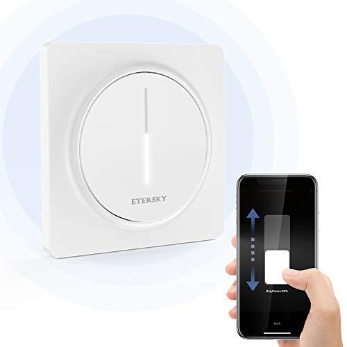 Alexa Stepless Dimmer Lichtschalter mit Touch Panel, Etersky Smart Dimmer...