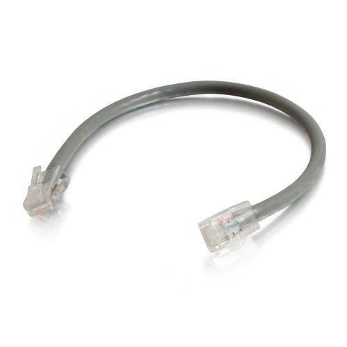 C2G 5ft Cat5E 350MHz Assembled Patch Cable Grey 1.5m Grau - Netzwerkkabel (1,5...
