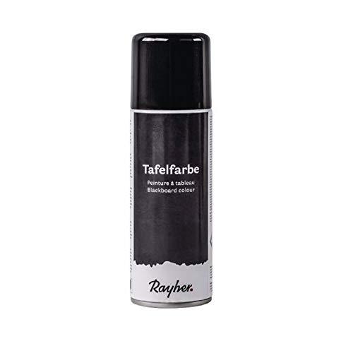 Rayher 38218576 Tafelfarbe-Spray, Sprühdose 200 ml, Tafelfarbe für...