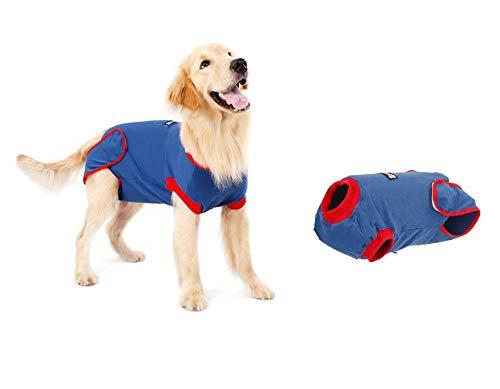 Sinrextraonry Professioneller Regenerationsanzug Hund Anti-Licking Kegel...