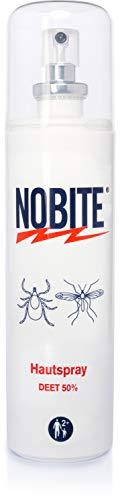 Nobite Hautspray, Insektenabwehrmittel zum Auftragen auf die Haut (100 ml)