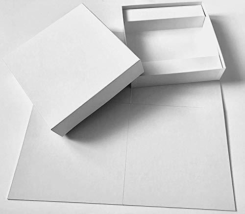 Spieltz DIY Spiel: Großes Blanko Brettspiel zum Bemalen. Leeres Spielbrett...