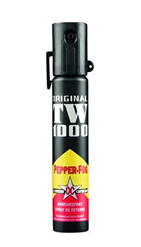 TW1000 Unisex– Erwachsene Pepper-Fog TOP-HIT Pfefferspray, farblos, 144mm