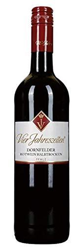 Vier Jahreszeiten Dornfelder 2019 Rotwein halbtrocken 0,75 Liter