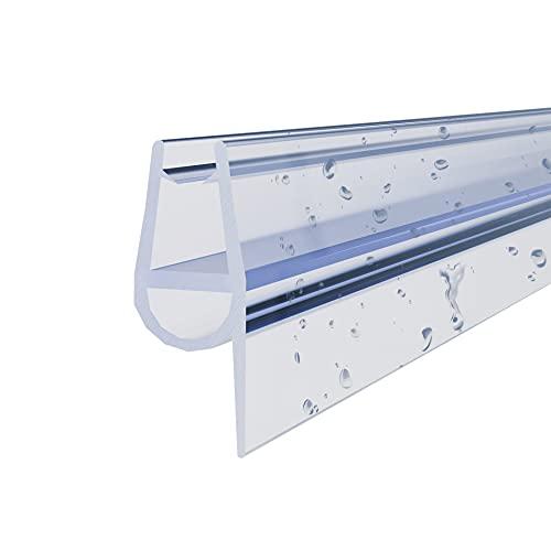 STEINHIRSCH Duschtürdichtung 2x80 cm Für 9mm 10mm Glasstärke Dichtung für...