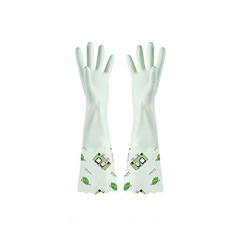H-OUO Reinigung Handschuhe, Wear-Resistant Pinsel Schalenreiber Abwasch...