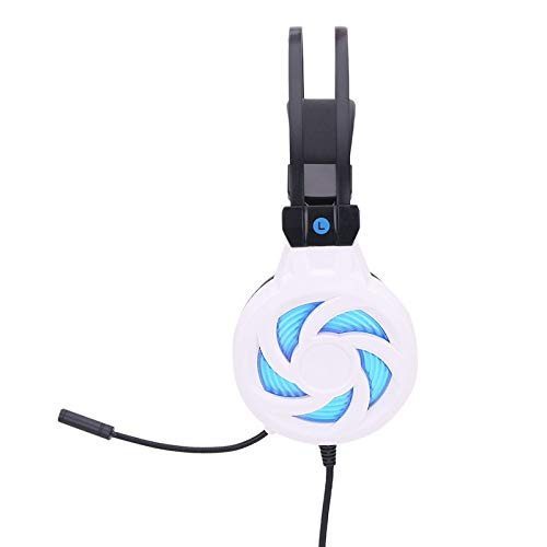 ouying1418 Luminescence Gaming Headsets Stereo Bass Wired Ear Headphones für PC
