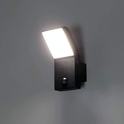 LED Wandlampe mit Bewegungsmelder FRODO.S Sensor 9W - 550lm, 120°...
