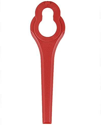 50 Stück Ersatzmesser für Rasentrimmer Gardenline GLART 18 Li,...