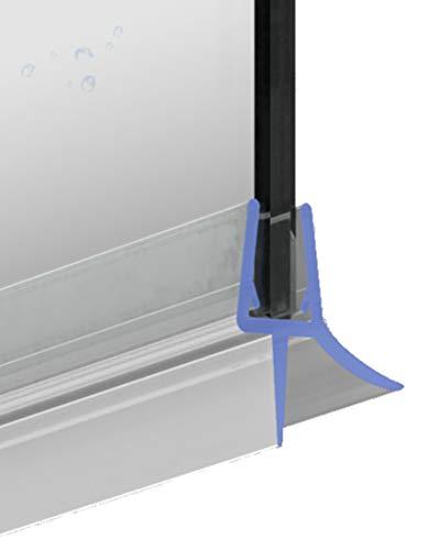 Duschdichtung Ersatzdichtung 100 cm für 5-6 mm Glasstärke Dichtprofil...
