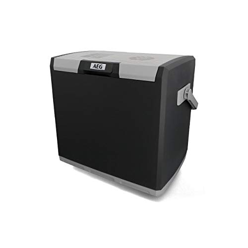 AEG Automotive Thermoelektrische Kühlbox KK 28 Liter, 12/230 Volt für Auto und...