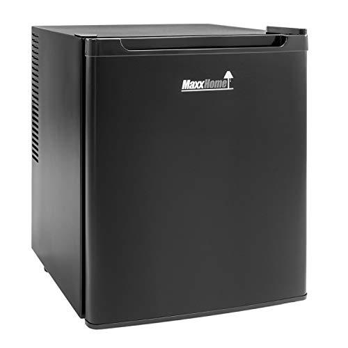 MaxxHome - Mini Kühlschrank (42L) mit Kühlbereich von 5-12° - Lautloser...