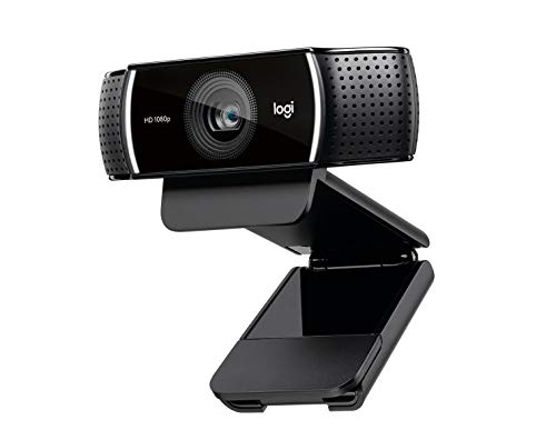 Logitech C922 PRO Webcam mit Stativ, Full-HD 1080p, 78° Sichtfeld, Autofokus,...