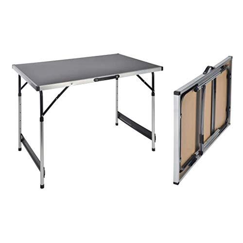 Haushalt International Campingtisch höhenverstellbar Tisch 100x60x73-94...