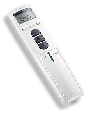 Becker TimeControl TC4410-II 10-Kanal Handsender mit kanalbezogenen. Weiß...