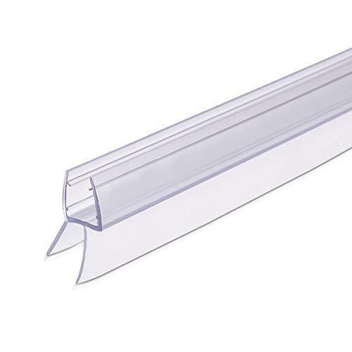 Navaris Schwallschutz Duschdichtung Duschkabine 45° - für 8mm dicke Glas...