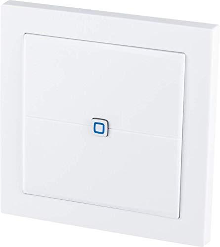 Homematic IP Smart Home Wandtaster – flach, besonders flach und flexibel...