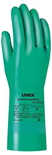 Uvex Nitril- / Chemikalienhandschuh - Hochwertiger Schutzhandschuh gegen...