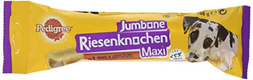 PEDIGREE Riesenknochen Maxi für große Hunde Hundesnacks mit Rind, 12er Pack...