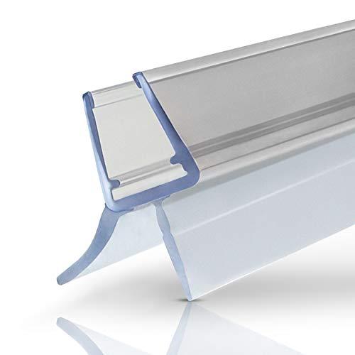 Premium Duschdichtung - 1x100cm Wasserabweisende Dichtlippe für Duschkabinen -...