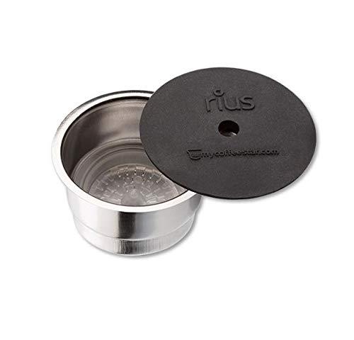 mycoffeestar RIUS: Wiederbefüllbare Kaffeekapsel für TCHIBO CAFISSIMO® und...