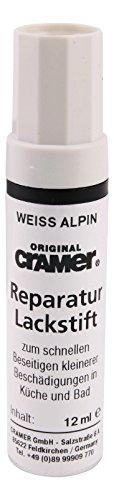 Cramer 66120 1 Lackstift für Keramik,Email und Acryl, weiß