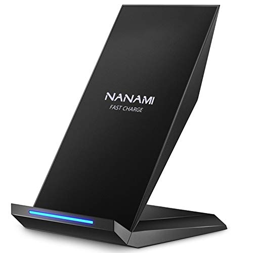 NANAMI Fast Wireless Charger,Induktive Ladestation für iPhone 13 12 pro 12 11...