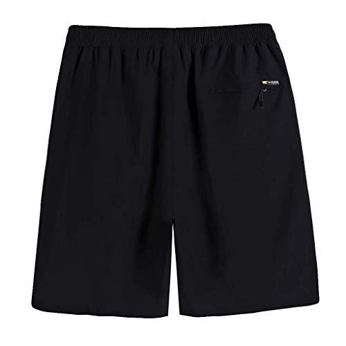 BOLAWOO-77 Herren Jogging Shorts Kurze Trainingshose Sporthose Slim Fit Männer...