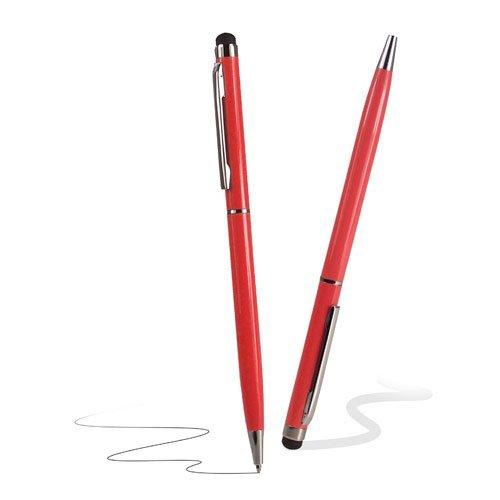 C63 Eingabestift mit Kugelschreiber, Rot