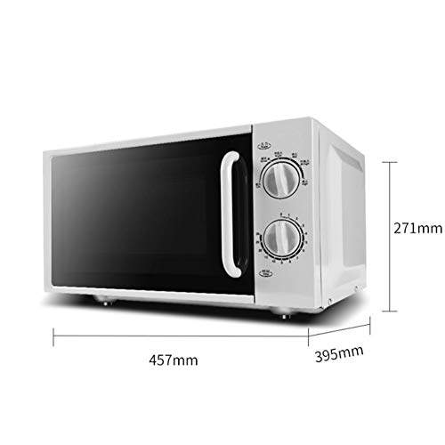 YBZS Digital Mikrowelle, Flat Panel Heizung/Mikrowelle / 6-Gang-Feuer / 360 °...