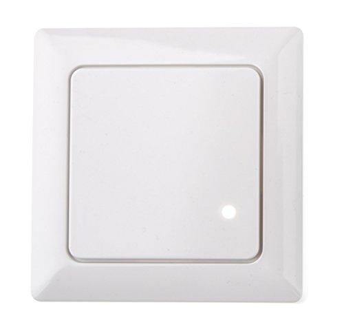HUBER MOTION 8HF, Radar Bewegungsmelder 180°, weiß, Unterputz für Innenraum-...