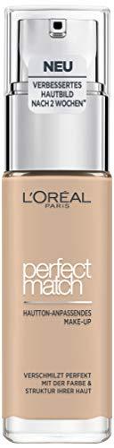 L'Oréal Paris Make up, Flüssige Foundation mit Hyaluron und Aloe Vera, Perfect...