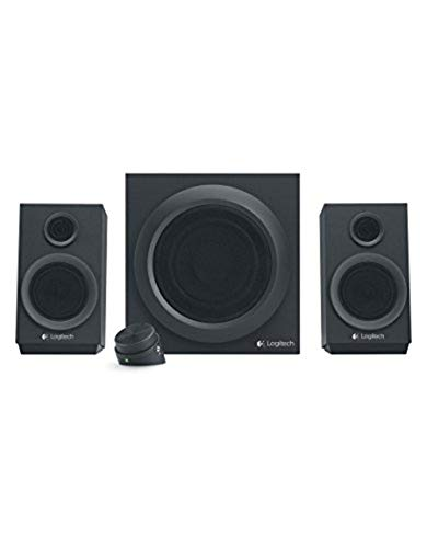 Logitech Z333 2.1 Lautsprecher-System mit Subwoofer, Satter Bass, 80 Watt...