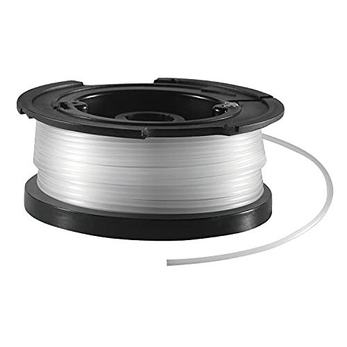 Black+Decker vollautomatische Einzelfadenspule (für Rasentrimmer 10 m Länge,...