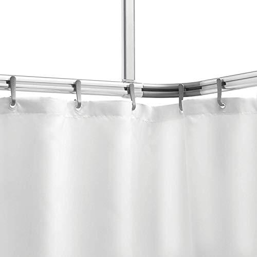 Sealskin Komplett Set Easy Roll Duschvorhangstange, Farbe: Chrom-matt,...