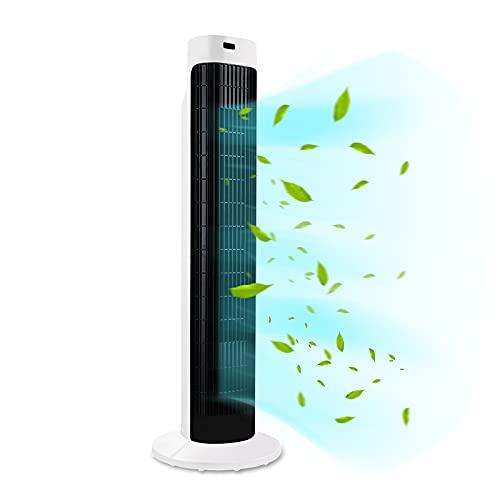 HENGMEI Turmventilator mit Fernsteuerung 70° Oszilation Ventilator...