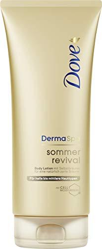 Dove DermaSpa Body Lotion für helle bis mittlere Hauttypen Sommer Revival mit...