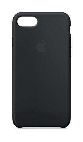Apple Silikon Case (iPhone8 / iPhone 7) - Schwarz