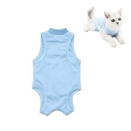 VICSPORT Katzen-Genesungsanzug Softchirurgie-Mantel für Bauchwunden oder...