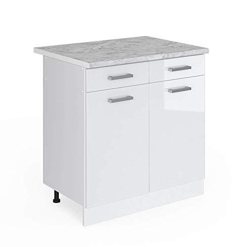 Vicco Küchenschrank R-Line Küchenzeile Hängeschrank Unterschrank...