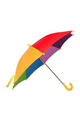 Mountain Warehouse Rainbow Schirm für Kinder - Farbenfroher Sonnenschirm,...