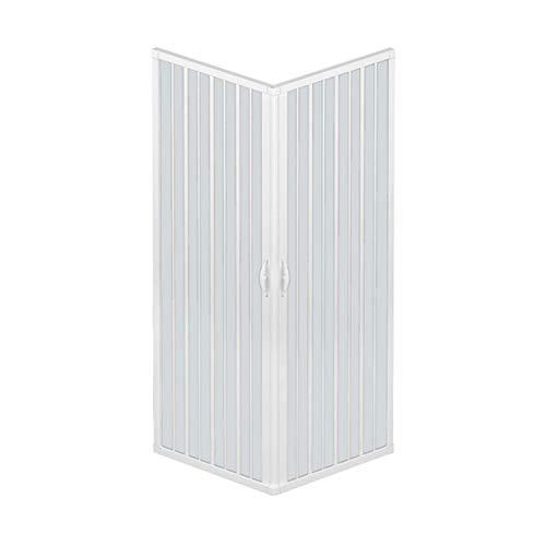 Duschkabine mit zwei verschließbaren Türen und 90-Grad-Winkel, hergestellt aus...
