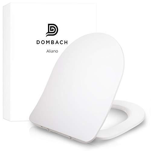 Dombach Aliano Toilettendeckel weiß DForm Slim-Design - der exklusive Premium...